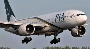 ابوظہبی سے پی آئی اے کی خصوصی پرواز 146 مسافروں کو لے کر ملتان پہنچ گئی