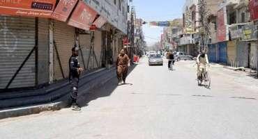 محکمہ صحت بلوچستان کی حکومت کو مکمل کرفیو نافذ کرنے کی سفارش