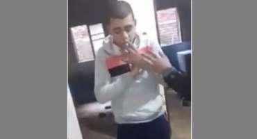 مصری نوجوان نے نماز کا مذاق بنا ڈالا