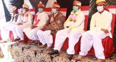 صادق آباد، 150 جوڑوں کی اجتماعی شادی،ڈھول اور گانوں پر رقص نے تقریب ..