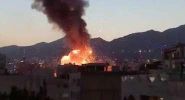 ایران کے دارالحکومت تہران میں دھماکہ، متعدد افراد ہلاک