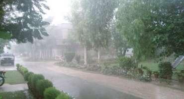 ہارون آباد' شہر اور گردونواح میں گرج چمک کے ساتھ موسلادھار بارش اور ..