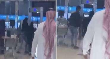 سعودی عرب کے شہر طائف کے ایک شاپنگ مال میں ناقابل یقین واقعہ