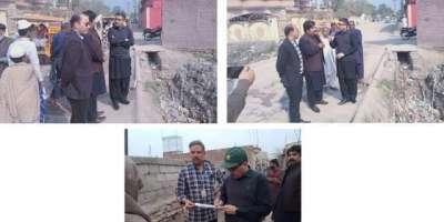 ڈپٹی کمشنر جہلم کا اراضی ریکارڈ سنٹر پنڈدادنخان،اقبال پارک، تحصیل ..