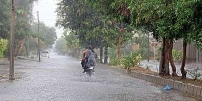 سرگودھا اور گردونواح سمیت ریجن بھر میں گرج' چمک کے ساتھ ہونیوالی بارش ..