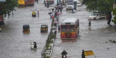 بھارت میں موسلادھار بارش اور لینڈ سلائیڈنگ، 19 افراد ہلاک ، 47 افراد ..