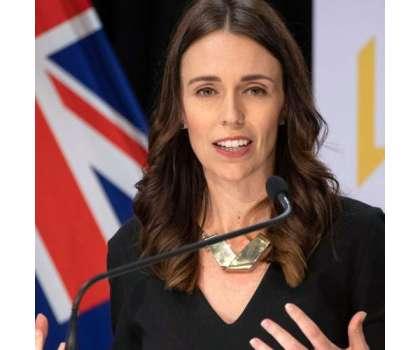 نیوزی لینڈ کی وزیر اعظم جیسنڈا آرڈرن نے فائز ر ویکسین کی دوسری ڈوز ..