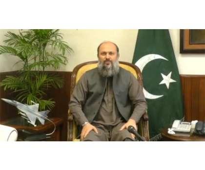 وزیر اعلیٰ بلو چستان کی صبغت اللہ شاہ راشدی کی رہا ئشگاہ جاکر انکی والد ..