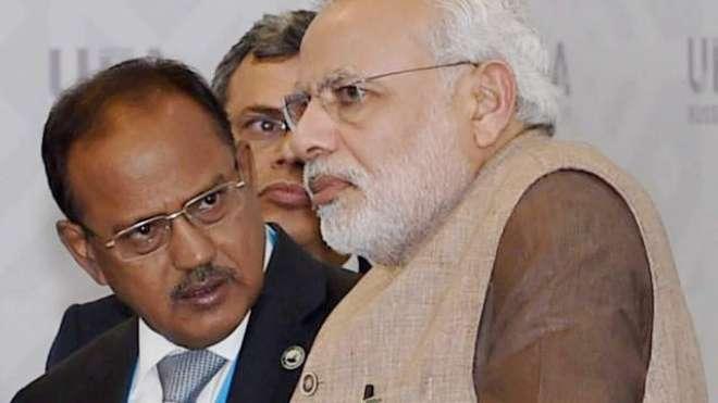 بھارت کے قومی سلامتی کے مشیر اجیت ڈوول کی پالیسیاں ناکام، بھارتی ملٹری ..