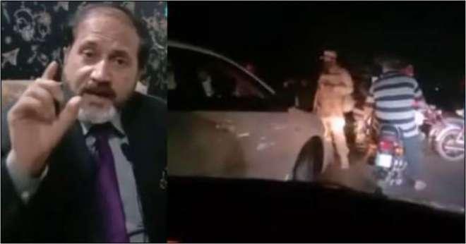 سیکورٹی فورسز نے پنجاب میں لاک ڈاون کے فیصلے پر سختی سے عمل درآمد کروانا ..