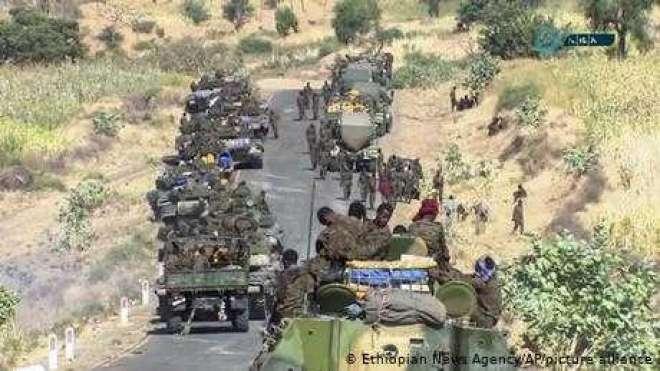 تیگرائی کے علاقائی دارالحکومت پر قبضہ کر لیا ہے، ایتھوپیا