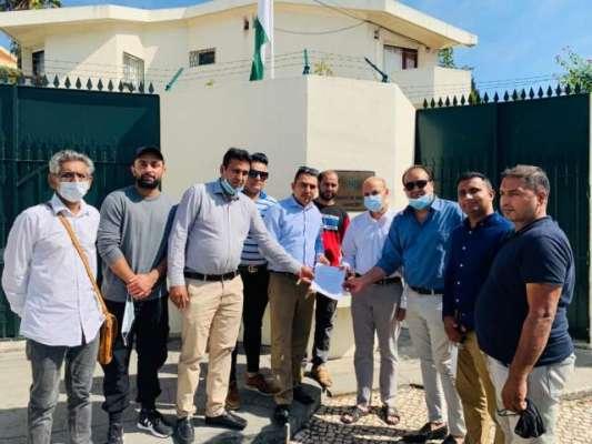 پاک پرتگال اتحاد کمیونٹی نے پاکستان سفارتخانہ لزبن میں اہور موٹروے ..