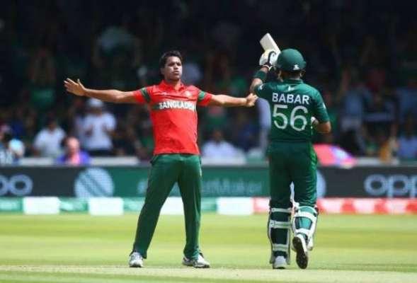 بنگلہ دیش کا پاکستان کے خلاف ٹی 20 انٹرنیشنل کرکٹ سیریز کیلئے 15 رکنی ..
