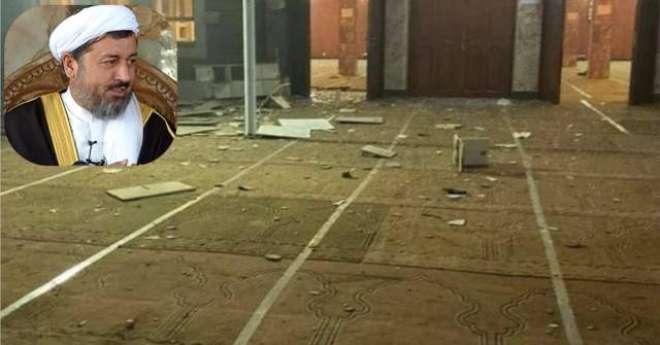 افغان دارالخلافہ کابل کے گرین زون میں واقع مسجد میں دھماکہ، امام مسجد ..