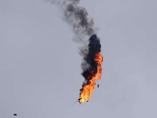 اسرائیلی فضائیہ کا طیارہ اور ہیلی کاپٹر گر کر تباہ