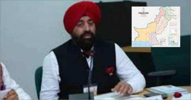 پاکستان کا نیا نقشہ، سابق بھارتی جنرل نے اپنی حکومت کے لئے خطرے کی گھنٹی ..