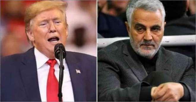 ایران نے قاسم سلیمانی کے قتل پر ٹرمپ کے وارنٹ گرفتاری جاری کردئیے