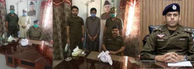 ڈسٹرکٹ پولیس آفیسر جہلم کی ہدایات پر جہلم پولیس کی کاروائیاں ، منشیات ..