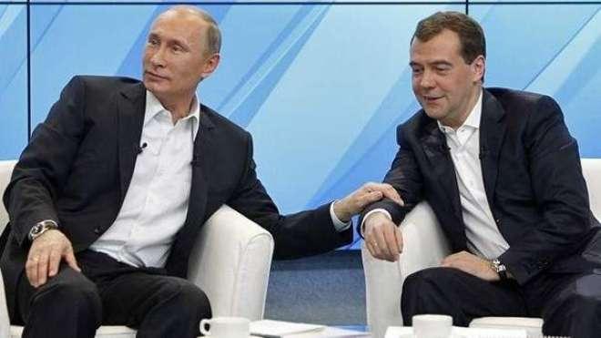 روسی وزیراعظم دمتری مد ویدیف نے استعفیٰ دیدیا
