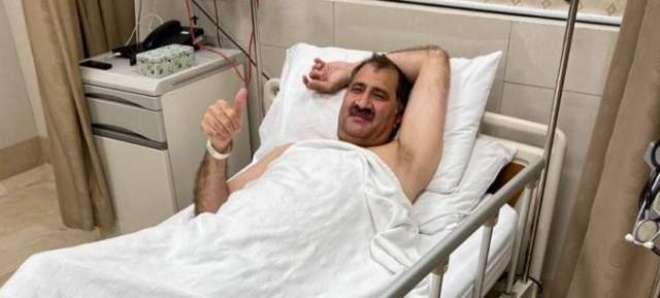 سکواش کے عالمی چیمپن جان شیر خان کی کمر کا آپریشن مکمل،صحت بہتر ہونا ..