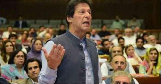 اسٹاک ایکسچینج حملے میں بھارت ملوث ہے. عمران خان