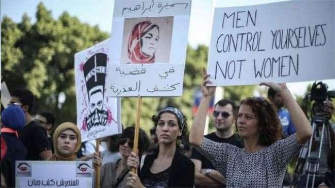 فیمینسٹ انقلاب مصر کے درودیوار ہلانے لگا