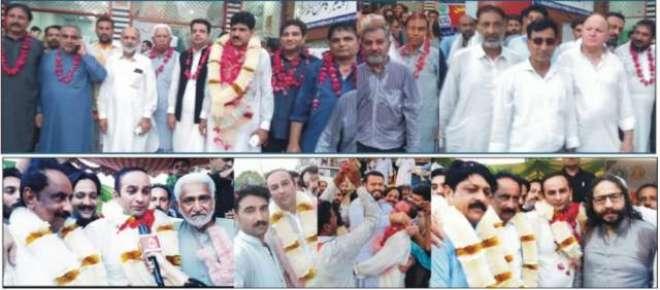 جہلم چیمبر آف کامرس اینڈ انڈسٹری کے انتخابات برائے ایگزیکٹو کمیٹی ..