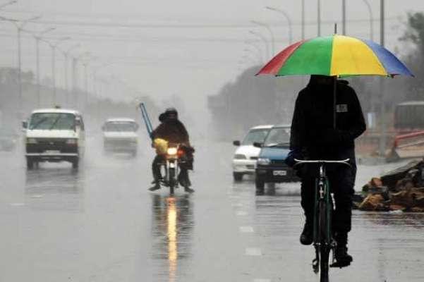 ملک میں موسلا دھار بارشوں اور ژالہ باری کا سلسلہ شروع ہونے کو