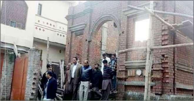 گوجرانوالہ میں گرجہ گھر کی تعمیر کے لیے مسلماںوں کی مدد