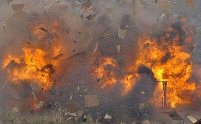 افغانستان میں پولیس ہیڈکوارٹر پر کار بم دھماکے ،12افراد ہلاک، 100زخمی
