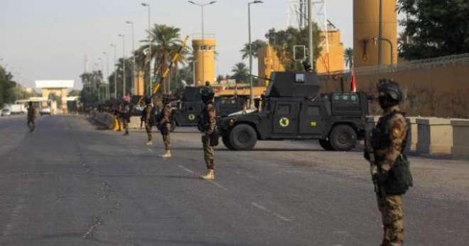 عراق: برطانوی سفارتخانے کی گاڑیوں پر حملہ، کوئی جانی نقصان نہیں ہوا