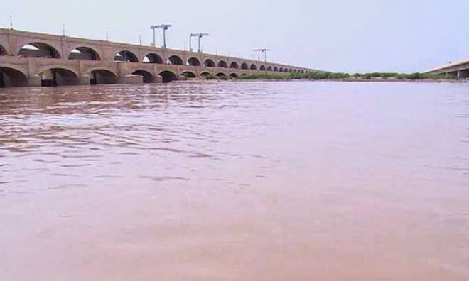 بارشوں بعد سے دریائوں اور بیراجوں پر پانی کے بہائو میں اضافہ،سندھ میں ..
