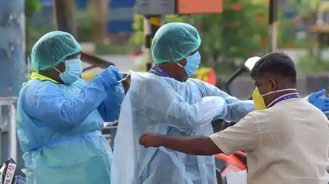 بھارت کورونا وائرس سے سب سے زیادہ متاثرہ ممالک کی فہرست میں شامل