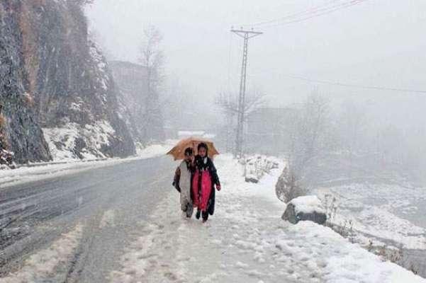 ہفتہ سے بالائی علاقوں میں موسم سرما کی پہلی بارش اور پہاڑوں پر برفباری ..