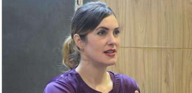 امریکی بلاگرخاتون سنتھیا ڈی رچی کی وزارت داخلہ کے فیصلے کےخلاف اور ..