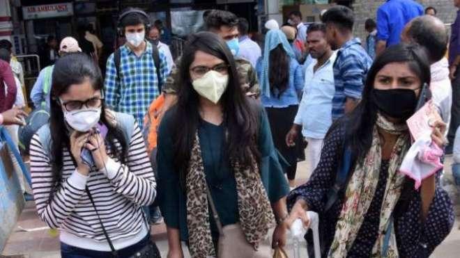 بھارت، 24 گھنٹوں میں کورونا کے 44 ہزار 489 کیسز رپورٹ