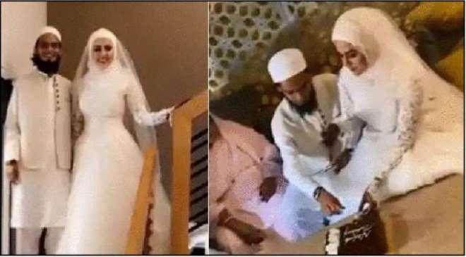 شوبز دنیا کو خیرباد کہنے والی بھارتی اداکارہ ثناء خان نے معروف اسلامی ..