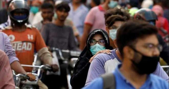 شہرقائدمیں ماسک پہن کر گھر سے نکلنے کی پابندی پر عمل نہ ہونے کے برابر