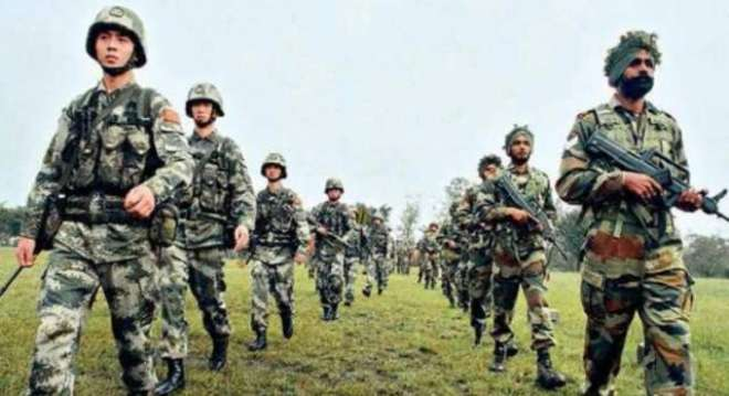 بھارت چین کشیدگی ختم کرنے کی کوششیں تیز،دونوں ممالک کے سینیئر فوجی ..