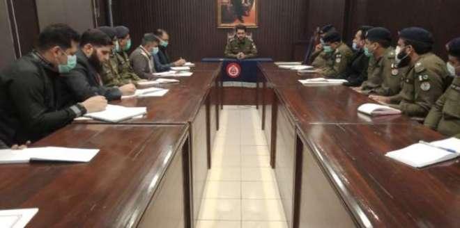 ڈسٹرکٹ پولیس آفس جہلم میں مینجمنٹ آفس کو بہتر اور ہفتہ واری مانیٹر ..
