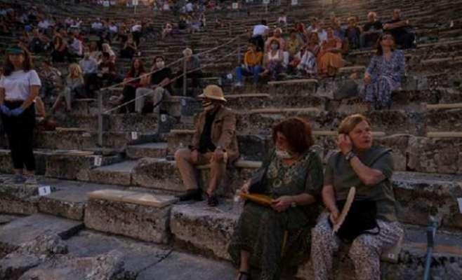 2300 سال قدیم یونانی تھیٹر کو کھول دیا گیا