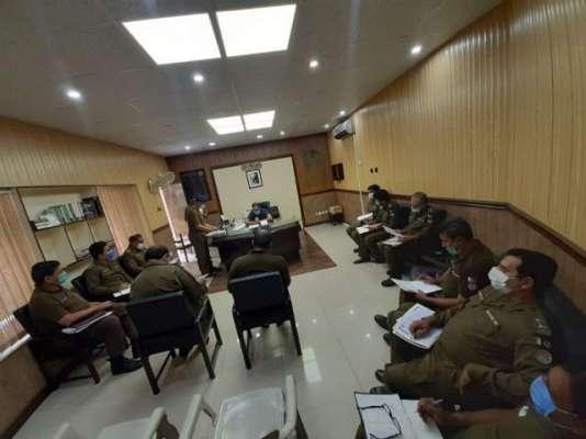 ایس پی کینٹ انویسٹی گیشن کیپٹن (ر) علی بن طارق کی کرائم میٹنگ