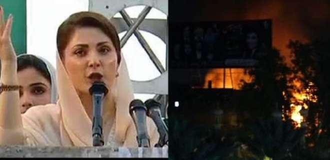 اپوزیشن کے جھوٹ سن کر ساتھ والی عمارت میں آگ لگ گئی، شبلی فراز