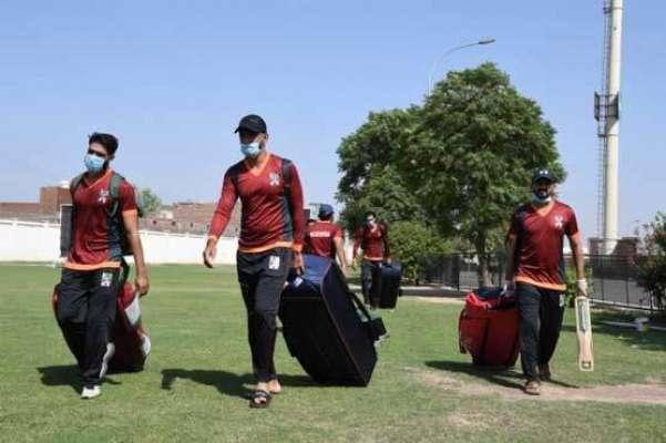 قومی کھلاڑیوں نے نیشنل ٹی ٹونٹی کپ کے لیے بائیو سیکیور یبل جوائن کرلیا
