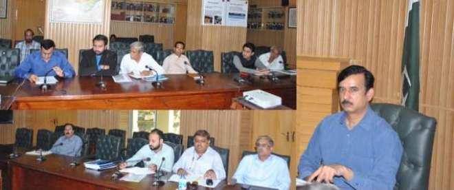 ضلع جہلم میں ترقیاتی منصوبوں کی تعمیر و ترقی کے لئے متعددسکیمیوں پر ..