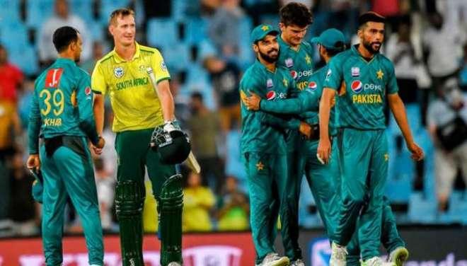 پاکستان اور جنوبی افریقی کرکٹ ٹیم کے مابین ٹی ٹونٹی سیریز کی ممکنہ ..