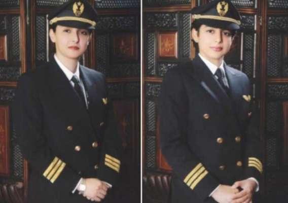 ایک ساتھ جہاز اڑا کر ریکارڈ بنانے والی دو پائلٹ بہنوں کا لائسنس بھی ..