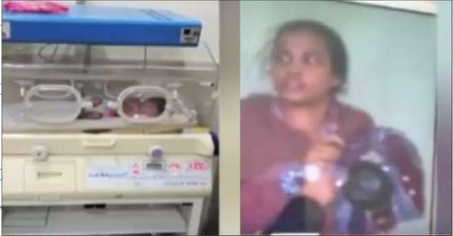 خاتو ن کی بچے کو واش روم میں جنم دینے کے بعد مارنے کی کوشش