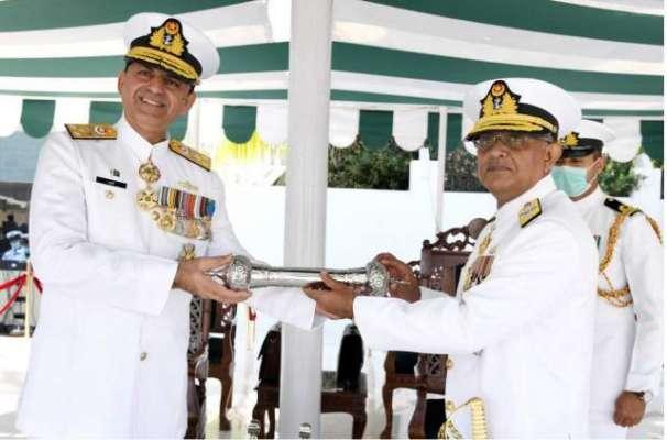 ریئر ایڈ مرل نوید اشرف نے کمانڈر پاکستان فلیٹ کا عہدہ سنبھال لیا