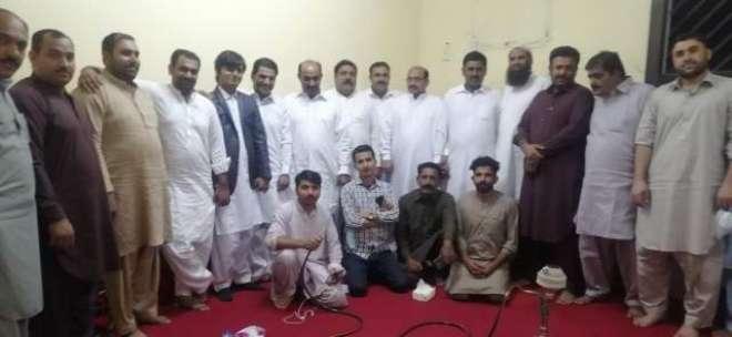 پاکستان تحریک انصاف خمیس معشیت ریجن میں پارٹی ورکر کی میٹنگ